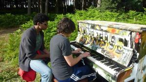 August and After funky piano