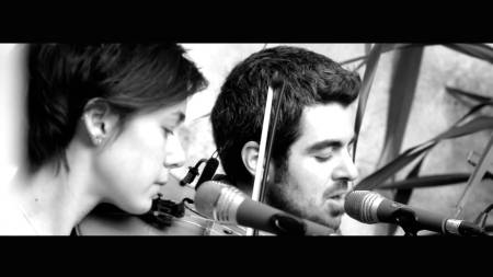 Gareth and Annie BW Video still